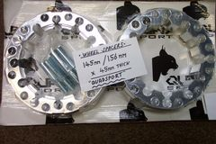 WS.  Quadsport Wheel Spacers, 145mm / 156mm (Yamaha, Quadzilla, etc.)